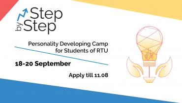 "Apply for the personality development camp ""Step by Step: How to be the BEST of the BEST"""